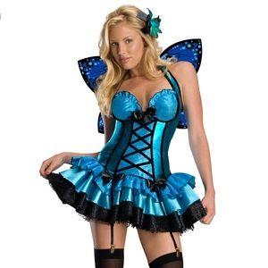 Sexy Blue Fairy Halloween Costume
